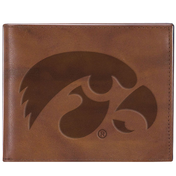 Iowa Hawkeyes Leather Billfold