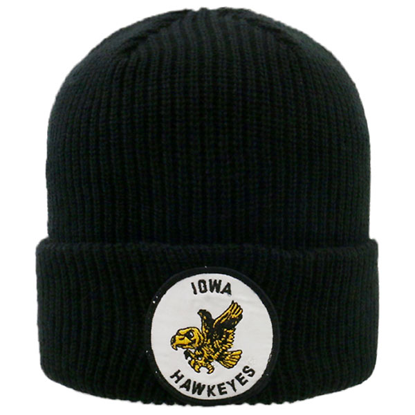 Iowa Hawkeyes Wharf Flying Herkey Stocking Cap
