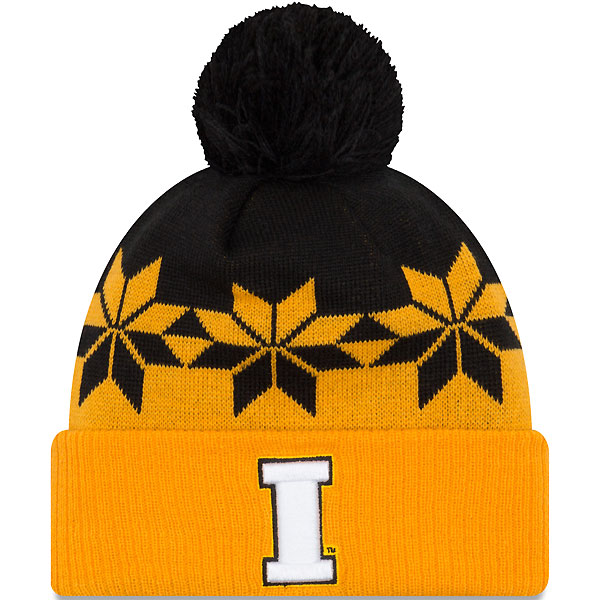 Iowa Hawkeyes Women's Wintry Cuff Knit Hat