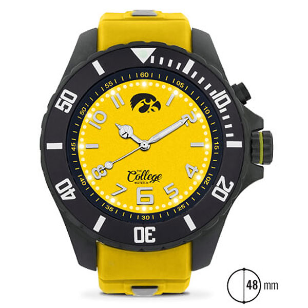 Iowa Hawkeyes 48mm Watch