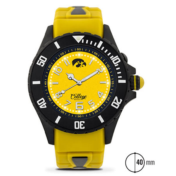 Iowa Hawkeyes Women's 40mm Watch