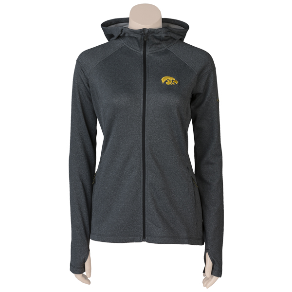 Iowa Hawkeyes Women's Trail Hooded Jacket