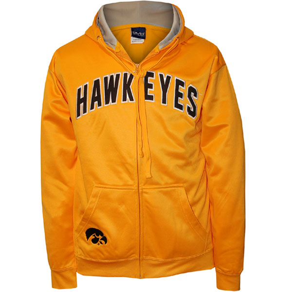 Iowa Hawkeyes Fleece Full Zip Hoodie