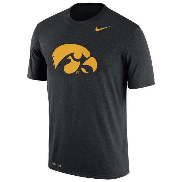Iowa Hawkeyes Dry Legend Tee