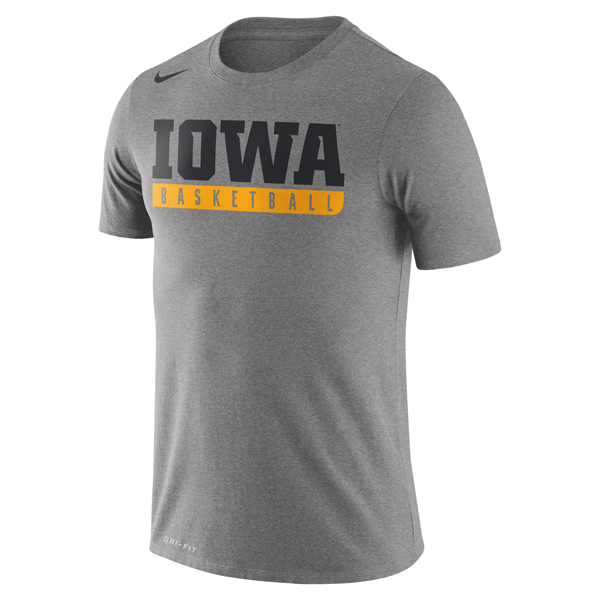 Iowa Hawkeyes Basketball Practice Tee