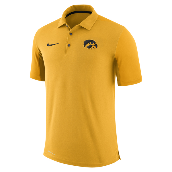 Iowa Hawkeyes 2017 Team Issue Polo