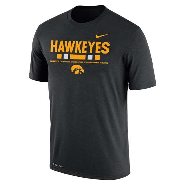 Iowa Hawkeyes Staff Legend Tee