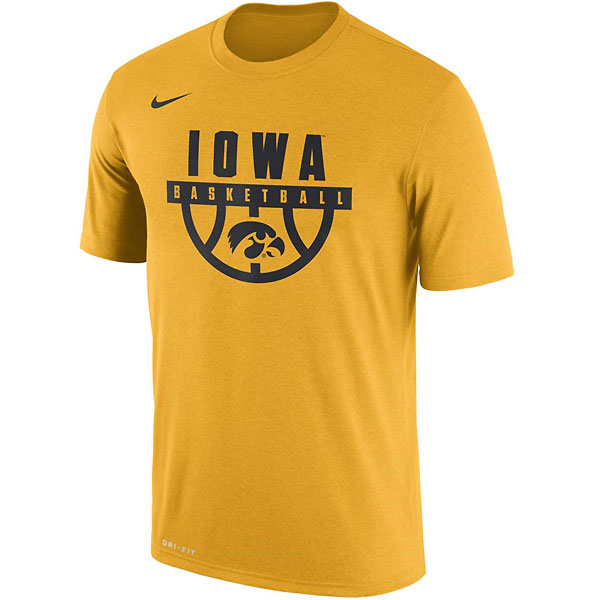 Iowa Hawkeyes Basketball Legend Tee