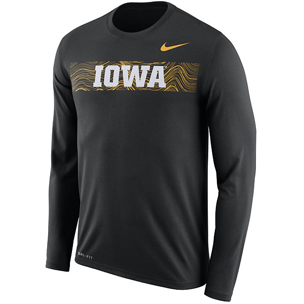 Iowa Hawkeyes Legend Sideline Tee