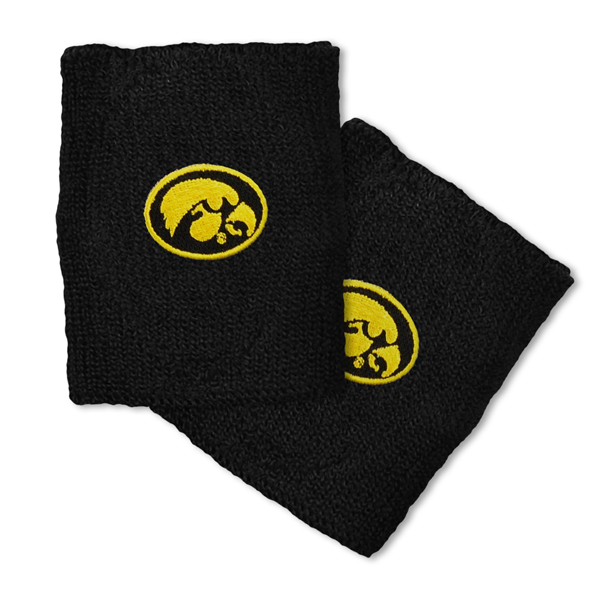 Iowa Hawkeyes Double Wide Wristbands
