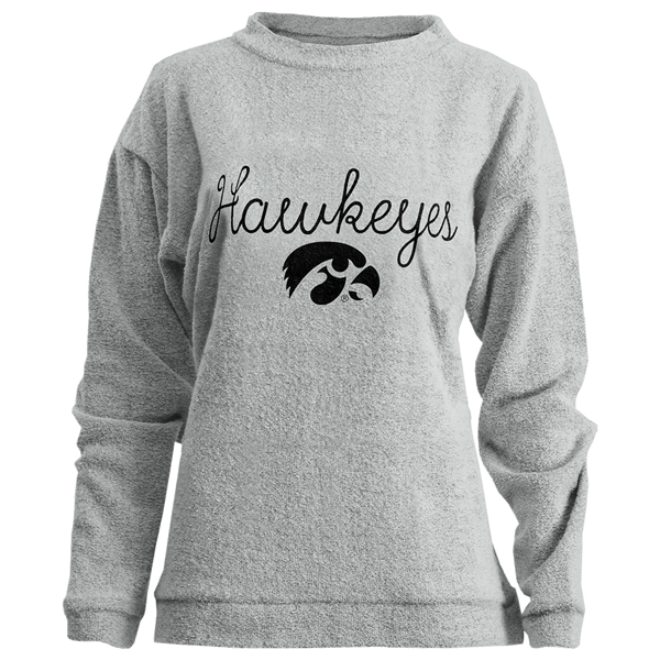 Iowa Hawkeyes Women's Bordeaux Crew Sweatshirt