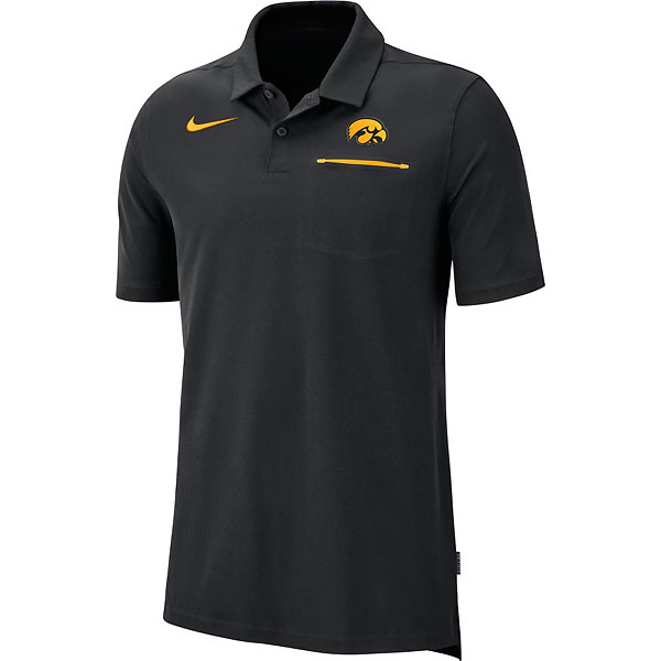 Iowa Hawkeyes Dri-Fit Polo