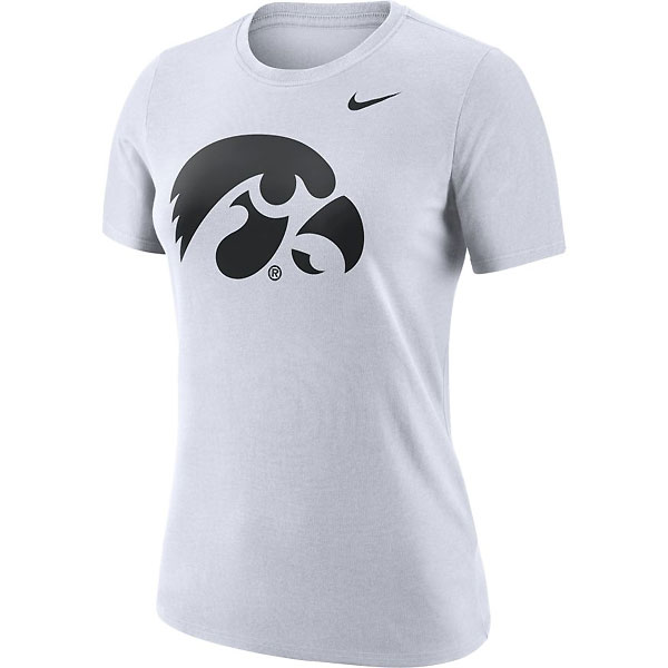 Iowa Hawkeyes Women's Logo Tee