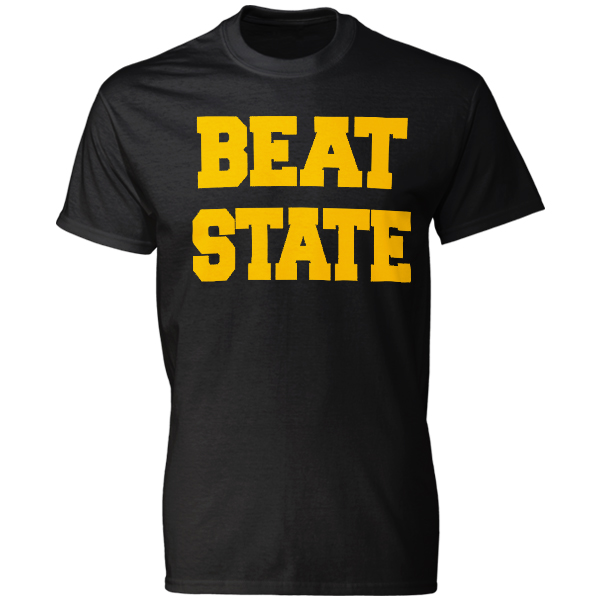 Iowa Hawkeyes Beat State Tee