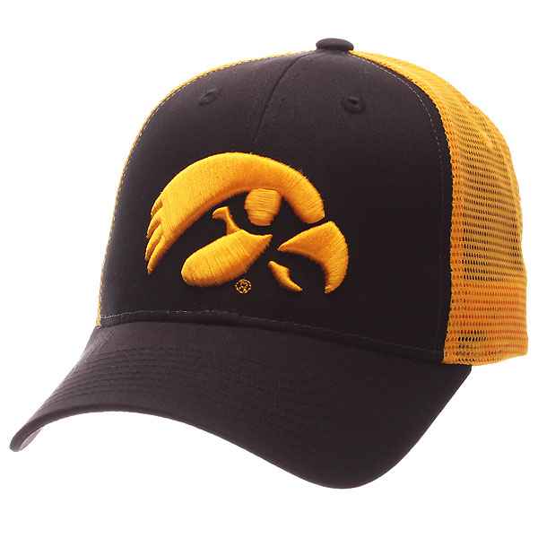 Iowa Hawkeyes Big Rig Meshback Hat