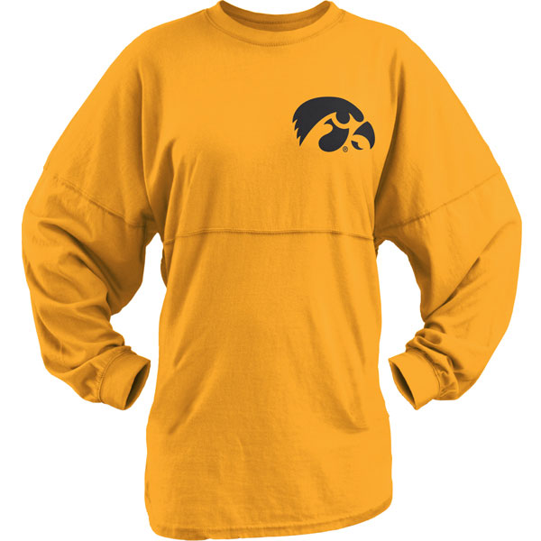 Iowa Hawkeyes Women's Big Time Sweeper Tee