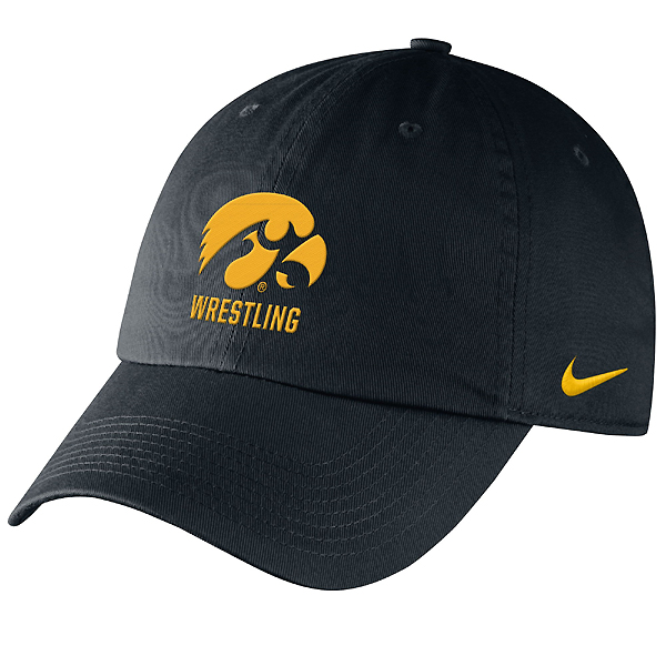 Iowa Hawkeyes Wrestling Campus Hat