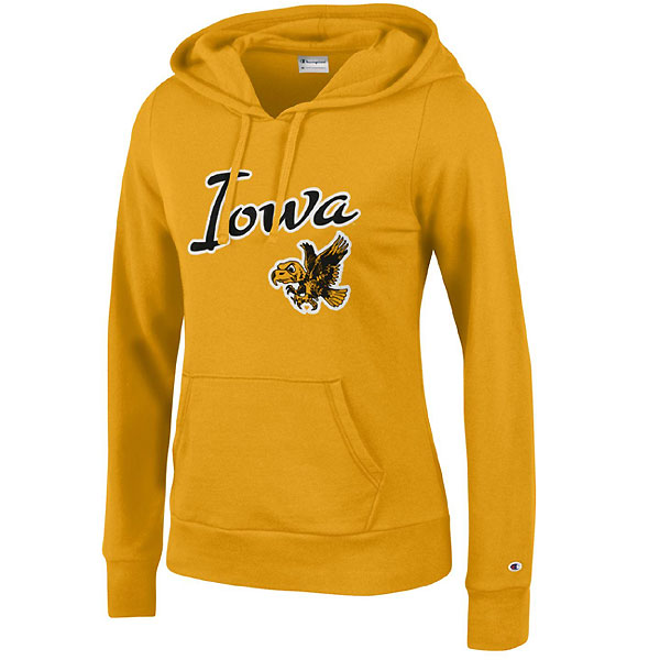 Iowa Hawkeyes Women's Eco University Fleece Hoodie