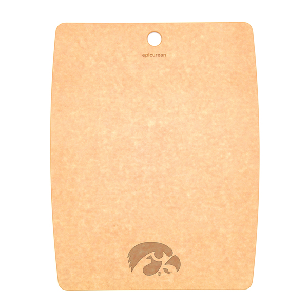 Iowa Hawkeyes Wood Fiber Cutting Board