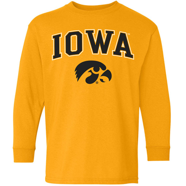 Iowa Hawkeyes Youth Crew Sweat
