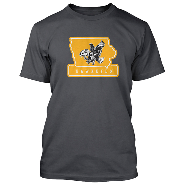 Iowa Hawkeyes Old School Herky Tee