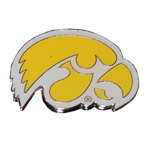Iowa Hawkeyes Logo Pin