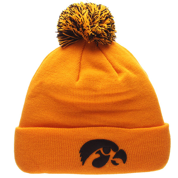 Iowa Hawkeyes Pom Knit Hat