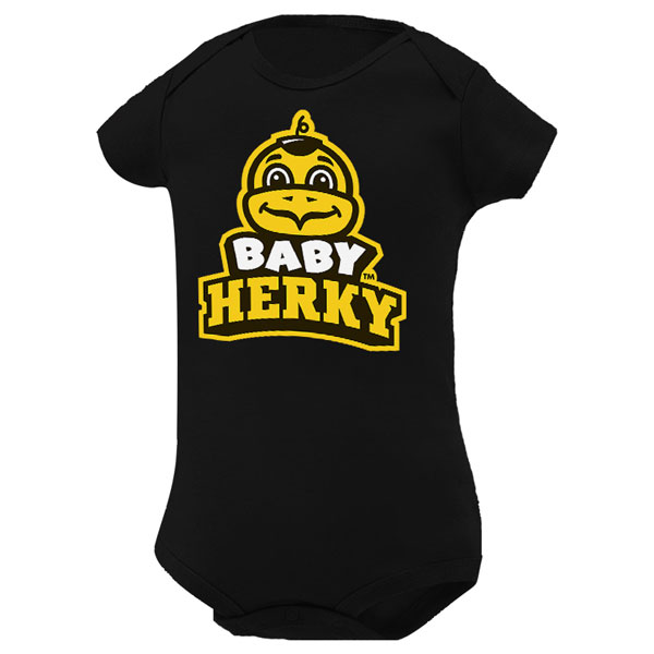 Iowa Hawkeyes Infant Team Onsie