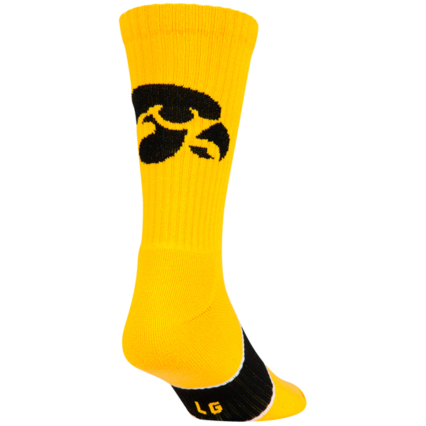 Iowa Hawkeyes Crew Sock