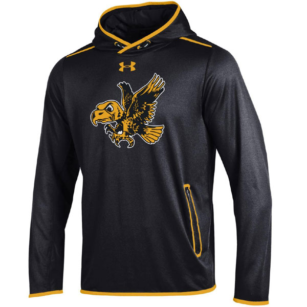 Iowa Hawkeyes StreamLine Hoodie (Black)