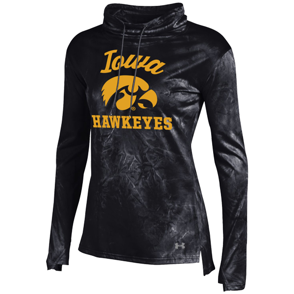 Iowa Hawkeyes Women's Fusion Tech Cowl Top