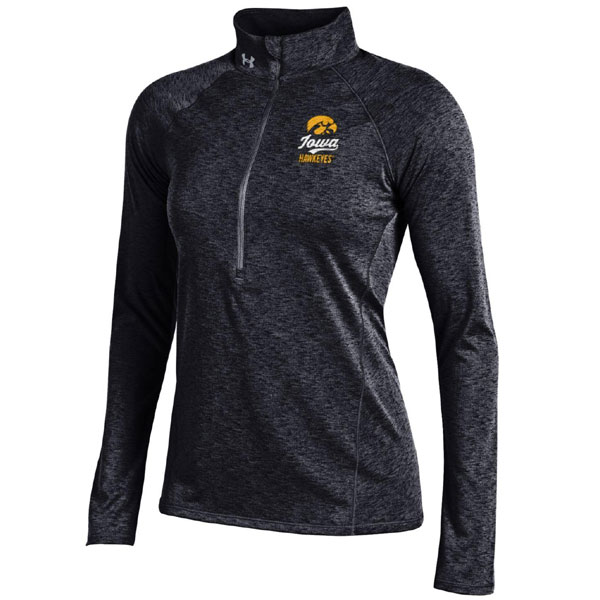 Iowa Hawkeyes Women's Grainy Tech Top