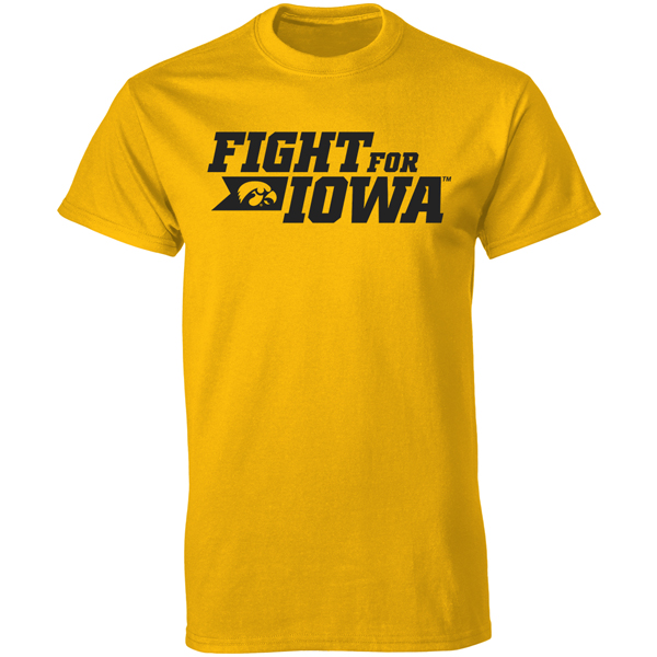 Iowa Hawkeyes Fight for Iowa Value Tee
