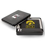 Iowa Hawkeyes Leather Bi-fold Wallet Gift Set