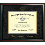 University of Iowa Diploma Frame