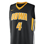 Iowa Hawkeyes #4 Basketball Jersey