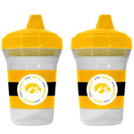 Iowa Hawkeyes Sippy Cups- 2 Pack