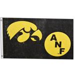 Iowa Hawkeyes 3' x 5' ANF NyloMax Flag