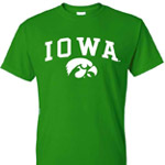 Iowa Hawkeyes Green Out Tee