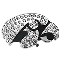 Iowa Hawkeyes Bling Auto Emblem