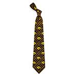 Iowa Hawkeyes Poly-Woven Tie