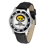 Iowa Hawkeyes Leather Competitor Watch