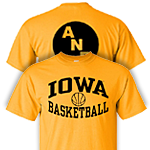 Iowa Hawkeyes America Needs Farmers Basketball Tee - Gold