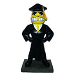 Iowa Hawkeyes Herkey Figure-Graduation
