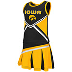 Iowa Hawkeyes Toddler Cheerleader Set