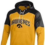 Iowa Hawkeyes Arch Hoody-Gold