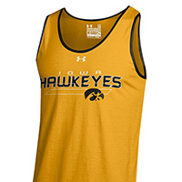 Iowa Hawkeyes Tank-Gold