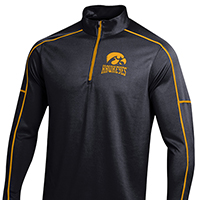 Iowa Hawkeyes Mock Long Sleeve Tee