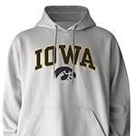Iowa Hawkeyes Mascot Hoody-White