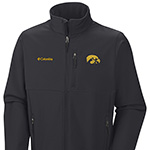 Iowa Hawkeyes Softshell Full-Zip Jacket